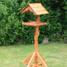 Bird Table With Roof