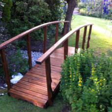 3.0m X 710mm Walkway Garden Bridge