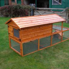 3 Up 4 Down Rabbit Hutch